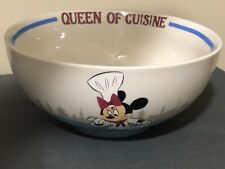 Disney Parks Food & Wine Minnie Mouse Queen Of Cuisine Bowl New