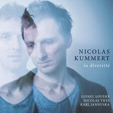 La Diversit von Nicolas Kummert (2017) CD Neu!
