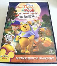 I MIEI AMICI TIGRO & POOH IL RIFUGIO DEL BOSCO DEI CENTO ACRI DVD CARTONI DISNEY