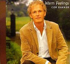 """Cor Bakker """"Warm Feelings""""- audio CD IMPORT (Netherlands 2005) Baileo Music RARE"""