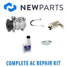 For Chrysler PT Cruiser 01-03 2.4L Full A/C Repair Kit w/ Compressor & Clutch