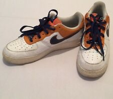 Nike Air Force One 25 '82 Orange And Navy Blue 317295-841 2007 Men's Sz 11.5
