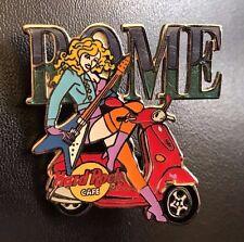 Hard Rock Cafe Rome Tee-Shirt Logo Series. Pin