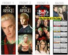 Buffy the Vampire Slayer 2019 CALENDAR BOOKMARK-3 Lot-Spike FAN Show ART