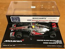 Minichamps 1/43 Vodaphone McLaren Mercedes MP4-27 #4 Hamilton - 2012 Hungary Win