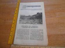1986 Sedona Cathedral Rock Emergence magazine newspaper mythology supernatural