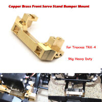 Heavy Duty Brass Front Bumper Servo Mount For TRAXXAS TRX-4 1/10 RC Crawler Car