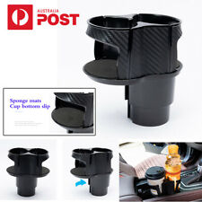 Universal Car Cup Holder Bottle Organizer Storage Box Adjustable Car Styling AU