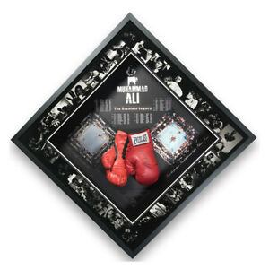 Signed Muhammad Ali Boxing Glove Framed Display - The Greatest Legacy