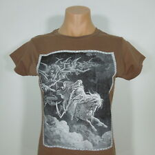 GUSTAVE DORE Death on the Pale Horse T-Shirt GIRLIE size M (NEW)