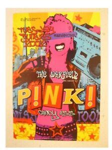 Pink Poster Handbill Live At The Warfield Pink
