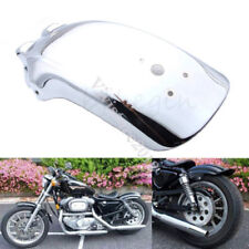 Chrome Metal Motorcycle Rear Fender Mudguard for Kawasaki Honda Chopper Cruisers