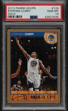 2013-14 Hoops Gold Stephen Curry #124 PSA 10 GEM MINT