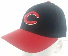 Cincinnati Reds Snapback Hat Cap Red Black Puma Genuine Merchandise Baseball