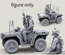 Resin 1/35 US Special Forces ATV Rider Smiling ONLY FIGURE BL307