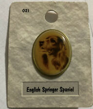 Kristone Dog Pin •English Springer Spaniel• Dog Pin Portraits Made In Usa