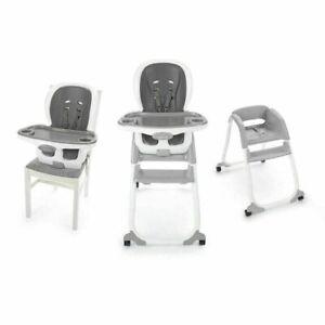 Ingenuity SmartClean Trio Elite High Chair 3 in 1 Slate Gray