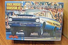 MODEL KING/MOEBIUS MELROSE MISSILE 1965 PLYMOUTH HEMI SUPER STOCK 1/25 SCALE KIT