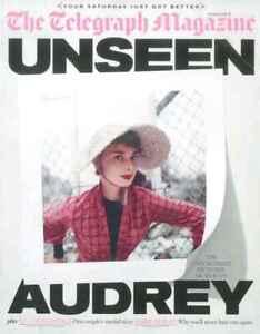 The Telegraph Revista: Alexander Armstrong, Audrey Hepburn 5.10.19