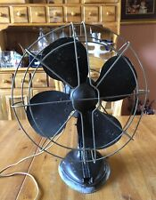 Vintage Art Deco Electric Desk Fan Robbins & Myers Good Working Condition
