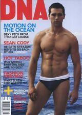 DNA Magazine #88 gay men shirtless JASON BEAM SEAN CODY