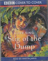 Clive King Stig Of The Dump 3 Cassette Audio Book Unabridged Martin Jarvis