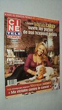 CINE REVUE 2006/31 (3/8/2006) MARIAH CAREY VERONIQUE JANNOT PAMELA ANDERSON RENO