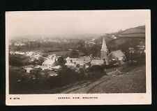 Devon BRAUNTON General view Used 1911 RP PPC by Kingsway #6774
