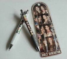 SNSD Girls' Generation Photo Ballpoint Pen + Mechanical Pencil Set KPOP Star