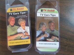 2 Pkgs.TV Ears Replacement Ear Tips 2.3