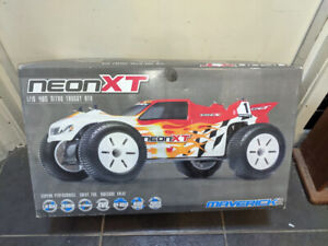 Boxed Maverick NeonXT Race Truck 1:10 Remote Control RC Model Car & Controller