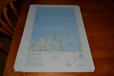 1940's Army topographic map Oyster Bay Sheet 6265 I NE