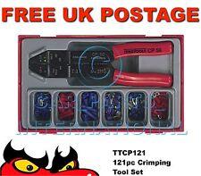 Teng herramientas ttcp121 121pc Crimping Tool Set terminales Y Conectores