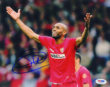 Frederic Kanoute SIGNED 8x10 Photo Mali *VERY RARE* PSA/DNA AUTOGRAPHED