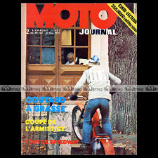 MOTO JOURNAL N°142-b JAWA 350 CALIFORNIA DRESCH 1973 ★ POSTER GUIDO MANDRACCI ★