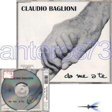 "CLAUDIO BAGLIONI ""DA ME A TE"" RARO CD 12BRANI"