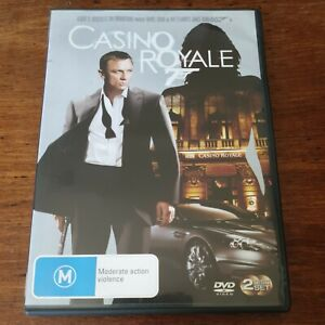 Casino Royale 007 James Bond DVD R4 Like New! FREE POST