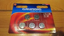 CR2032 Grundig Knopfzellen Blister 5 Knopfzellen