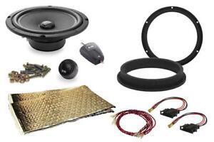 "VW Transporter T5 T6 BLAM 20cm 8"" Component Complete Speaker Fitting Kit 200W"