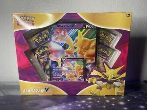 Brand New Factory Sealed Pokemon Alakazam V Box