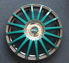 4 Radkappen Türkis Nissan Micra 14 Zoll Sommerreifen w.NEU