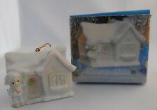 Precious Moments Sugar Town Porcelain Ornament Sam'S House 1994 Enesco #530468