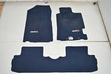 2002-2006 JDM Acura RSX DC5 Type R Oem Genuine Blue ITR RHD Floor Mats Floor Mat