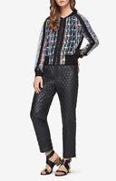$228 NEW WOMEN'S BCBG Harrison Paisley-Print Jacket SZ XS multicolor Cute