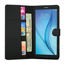 For Samsung Galaxy Tab E 8.0 T378V Case Slim Fit Premium PU Leather Stand Cover