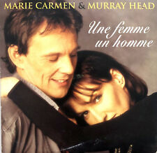 Marie Carmen & Murray Head ‎CD Single Une Femme Un Homme - France (G+/EX)