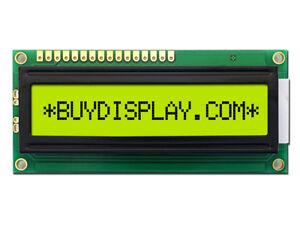 5V 16x1 Character LCD Module Display w/Tutorial,HD44780,Bezel,Backlight