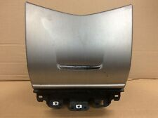 03 04 05 06 07 Accord Dash Center Pocket Storage Compartment Assy Silver OEM