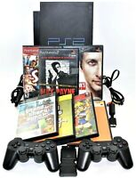 Sony PS2 Console Bundle PlayStation Wireless Controllers GTA Vice City Stories