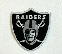 Raiders Skull Army Embroidered Iron Sew on Patch j134 Skull